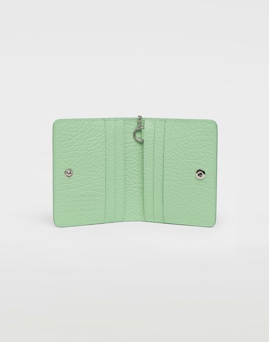 MAISON MARGIELA Textured leather wallet Wallet [*** pickupInStoreShipping_info ***] d