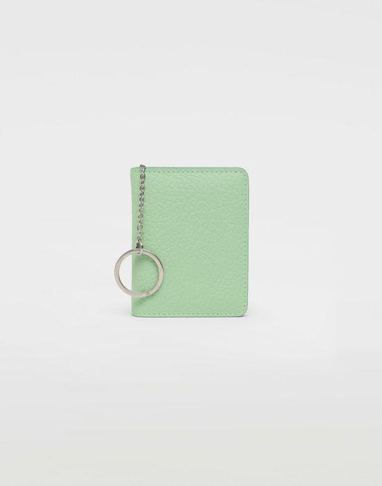 MAISON MARGIELA Textured leather wallet Wallet [*** pickupInStoreShipping_info ***] f