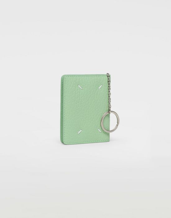 MAISON MARGIELA Textured leather wallet Wallet [*** pickupInStoreShipping_info ***] r