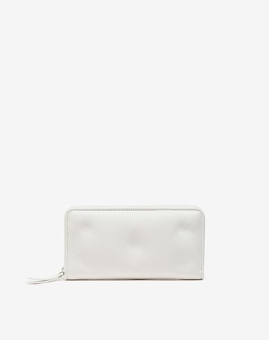 Small Leather Goods Glam Slam long wallet White