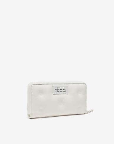 ACCESSORIES Glam Slam long wallet White