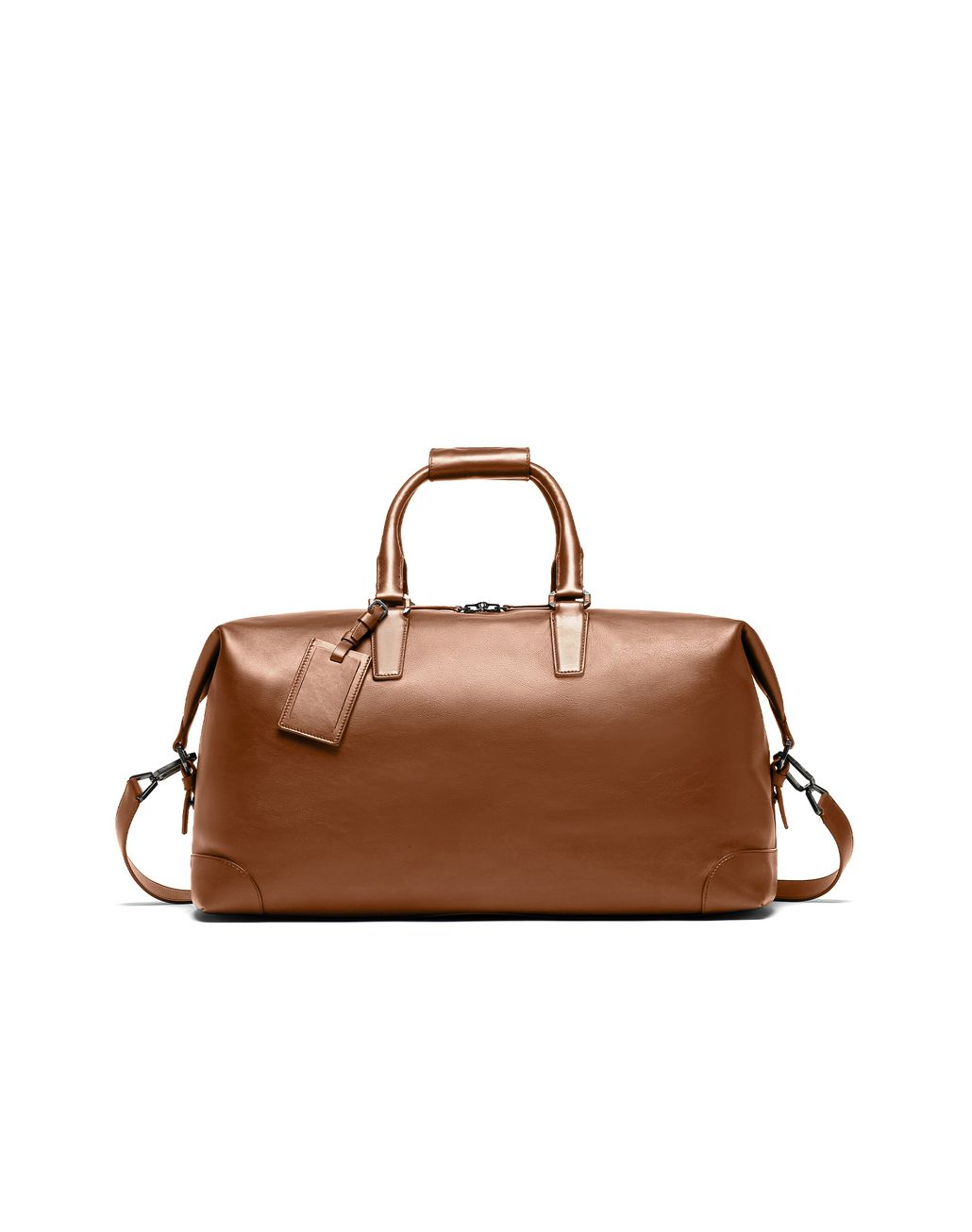 BRIONI Brown Holdall Bag Man f