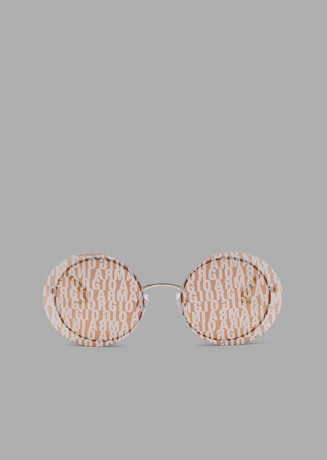Occhiali da sole donna forma rotonda