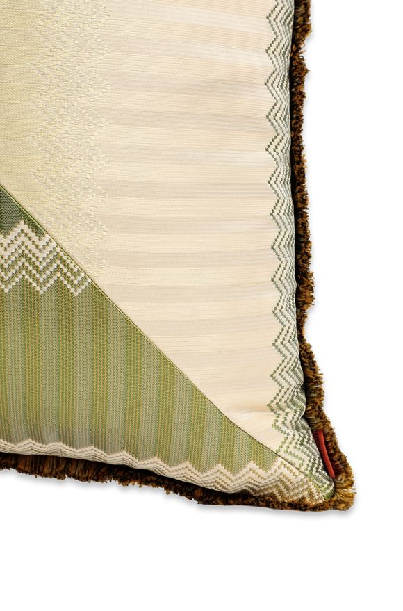MISSONI HOME WELLS CUSHION E, Rear view