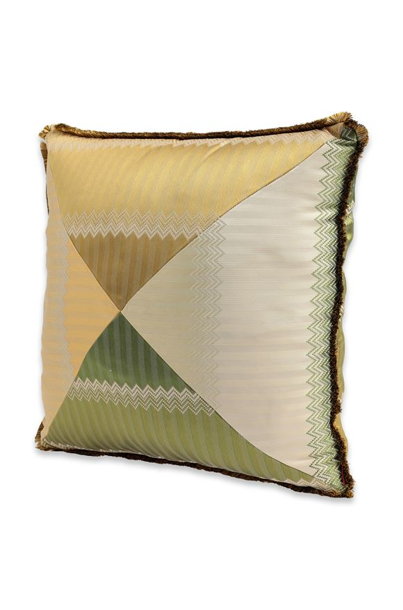 MISSONI HOME WELLS CUSHION Light green E