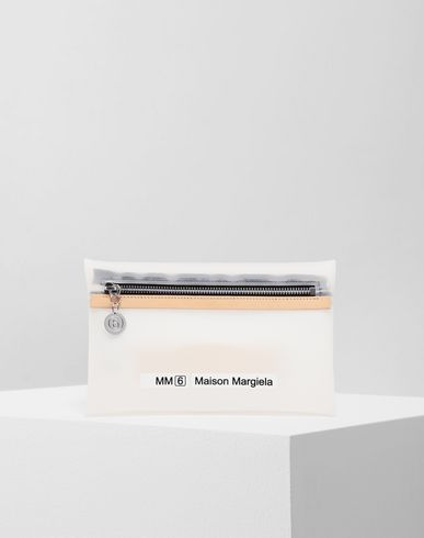 MM6 MAISON MARGIELA Zip pouch bag Wallets Woman f