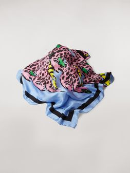 Marni Foulard in silk Bolero print by Bruno Bozzetto Woman
