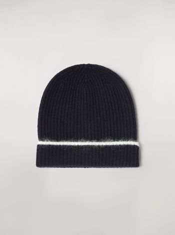 Marni Cashmere mohair and nylon hat Woman f