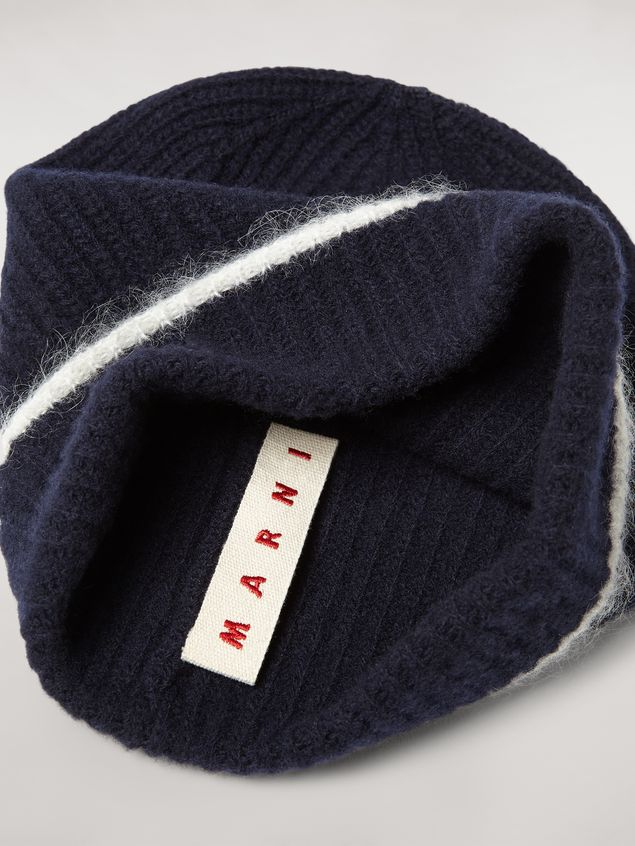 Marni Cashmere mohair and nylon hat Woman - 4