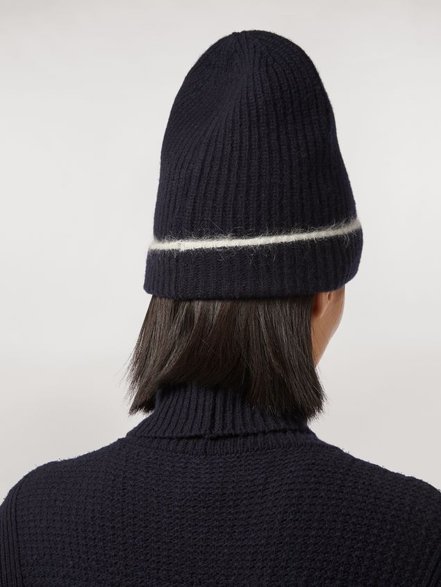 Marni Cashmere mohair and nylon hat Woman - 3