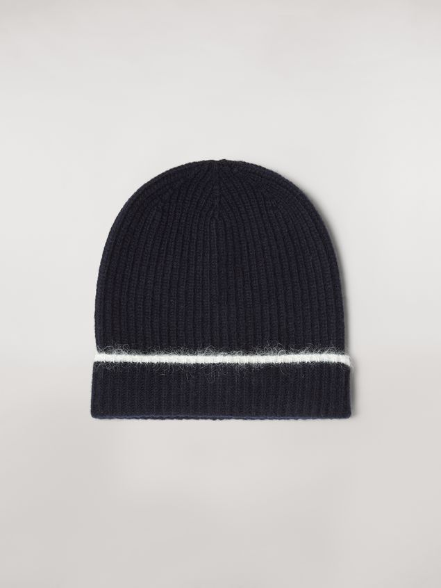 Marni Cashmere mohair and nylon hat Woman - 1