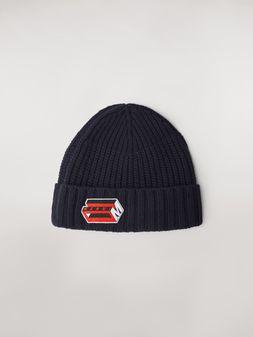 Marni Blaue Mütze aus Wolle und Kaschmir  Herren