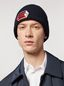 Marni Blue cap in wool and cashmere  Man - 2