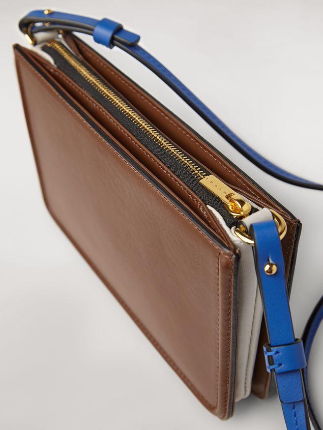 Marni Clutch in brown leather Woman - 4