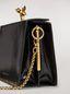 Marni Tasche FAWN aus glänzendem Kalbsleder in Schwarz Damen - 4