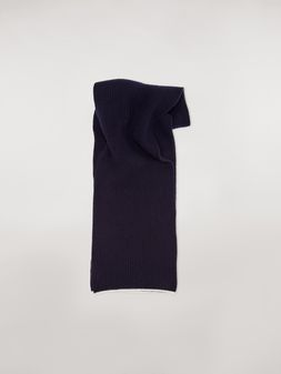 Marni Striped scarf in virgin wool mohair and nylon Woman