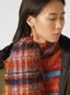 Marni Chequered virgin wool and mohair scarf Woman - 2