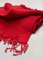 Marni Scarf in red and bordeaux virgin wool Man - 4