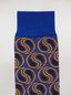 Marni Calcetines de jacquard de algodón y poliamida con diseño de cachemir en azul Mujer - 3