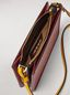 Marni Clutch in burgundy leather Woman - 4