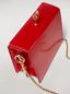 Marni FAWN bag in shiny calfskin red Woman - 5