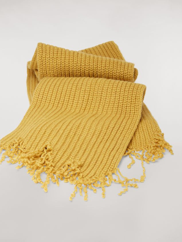 Marni Scarf in acid virgin wool Man - 3