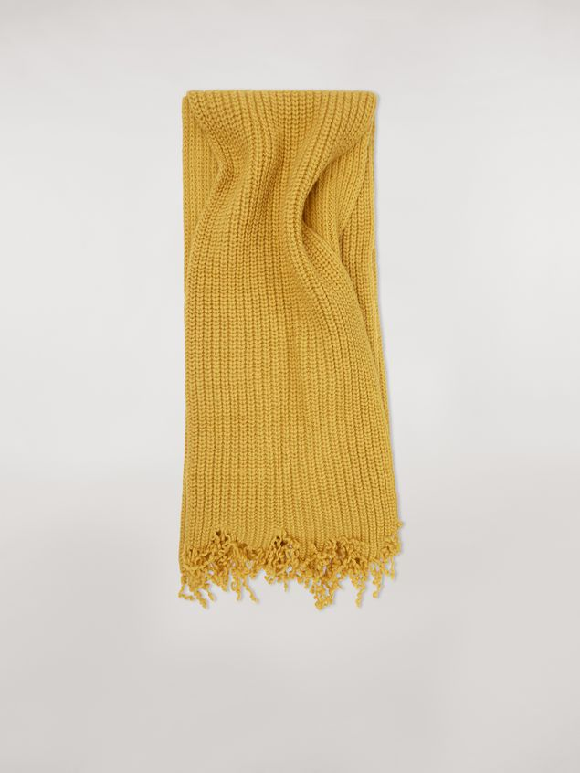 Marni Scarf in acid virgin wool Man - 1