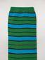 Marni Calcetines de algodón y poliamida en puto liso a rayas de color azul y verde Mujer - 3