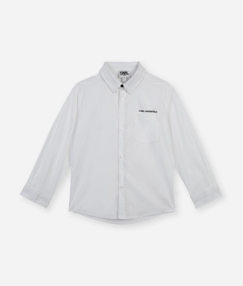 KARL LAGERFELD Logo Shirt Kids' Shirt Man f