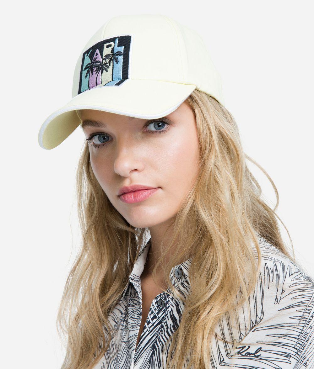 KARL LAGERFELD K/Karlifornia Cap Hat Woman f