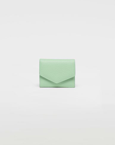 MAISON MARGIELA Textured leather wallet Wallets [*** pickupInStoreShipping_info ***] f
