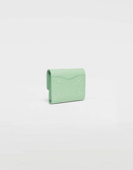 MAISON MARGIELA Textured leather wallet Wallet [*** pickupInStoreShipping_info ***] r