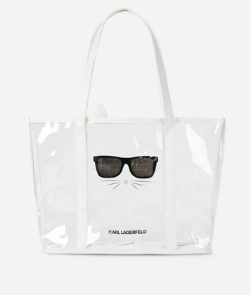 KARL LAGERFELD CHOUPETTE BEACH BAG