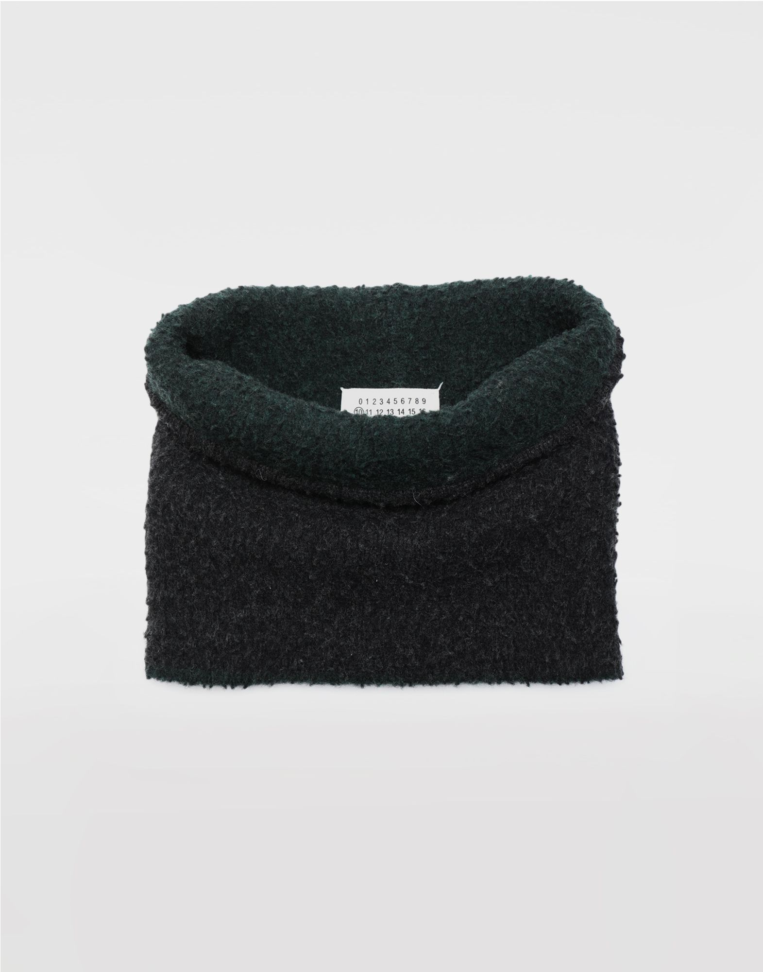 MAISON MARGIELA Bobble wool snood Scarf Man a