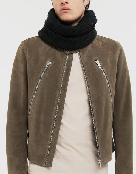 MAISON MARGIELA Bobble wool snood Scarves and Stoles Man r