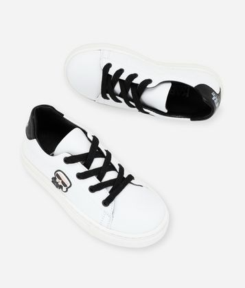 KARL LAGERFELD K/IKONIK LACE-UP SNEAKERS