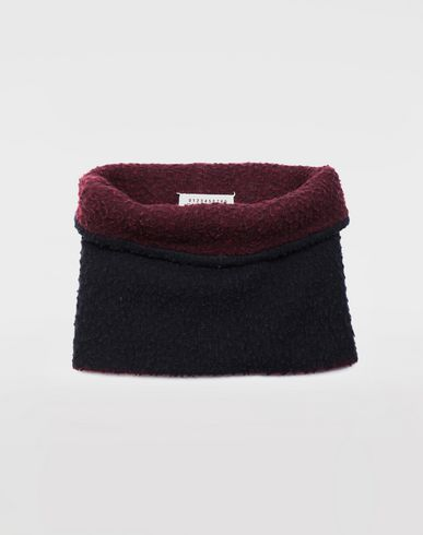 ACCESSORIES Bobble wool snood Blue