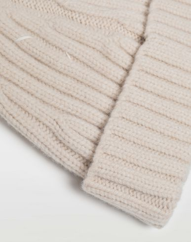 ACCESSORIES Wool beanie Beige