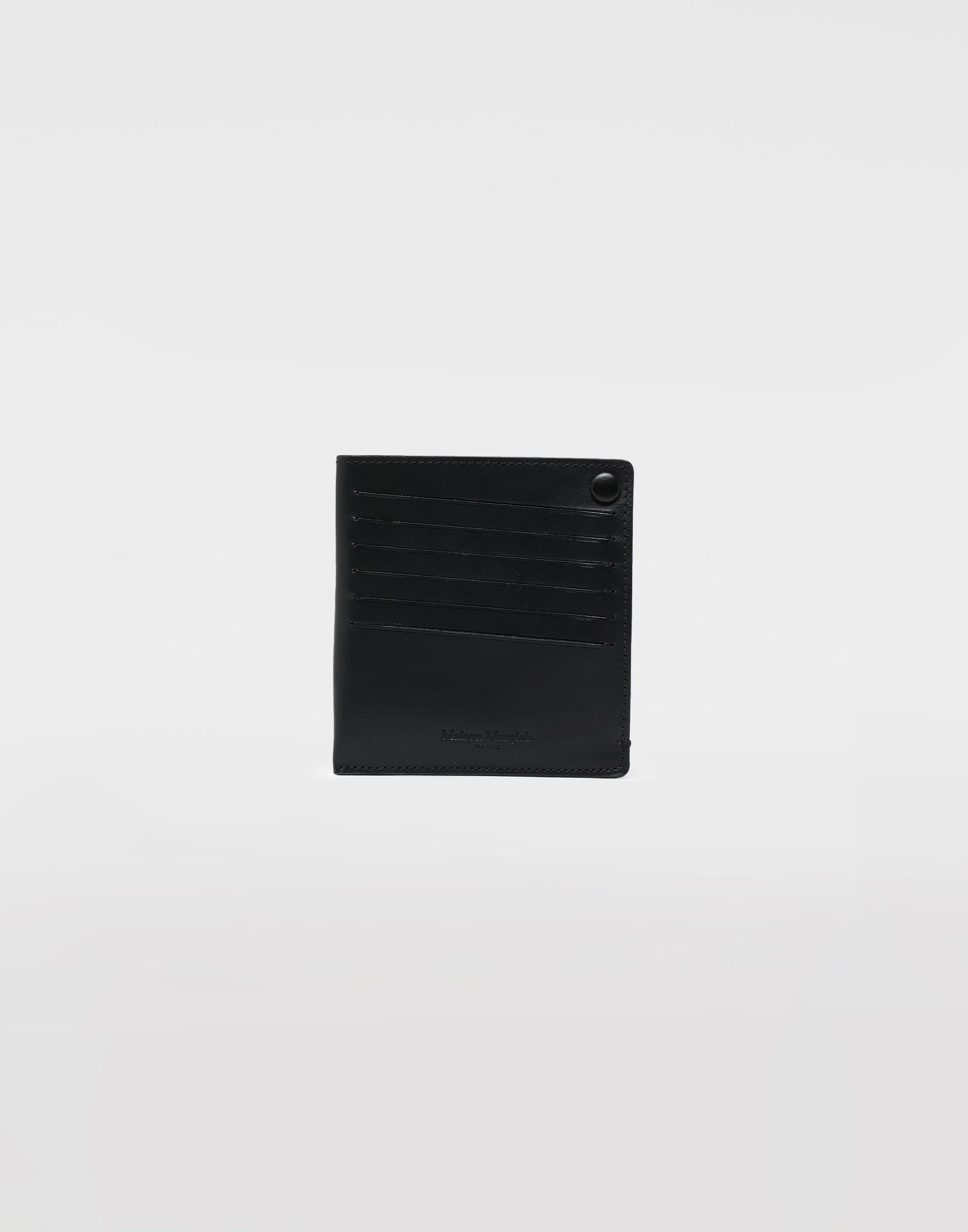 MAISON MARGIELA Leather popper wallet Wallets Man f