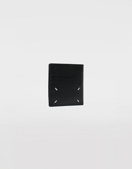 MAISON MARGIELA Leather popper wallet Wallets Man r