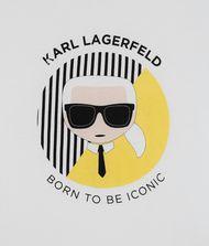 KARL LAGERFELD Ikonik Karl Circle T-Shirt 9_f