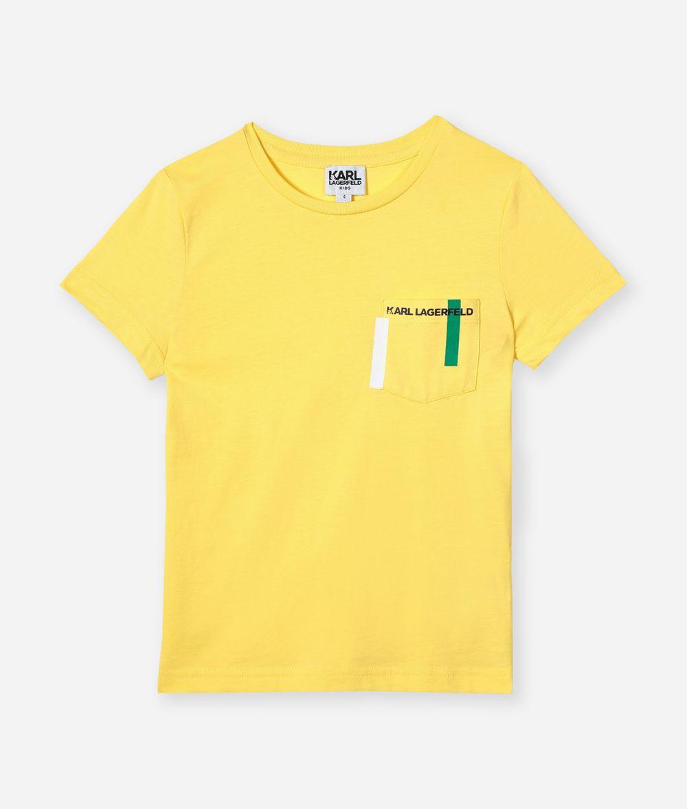KARL LAGERFELD Choupette Pocket T-Shirt  Kids' T-Shirt Man f