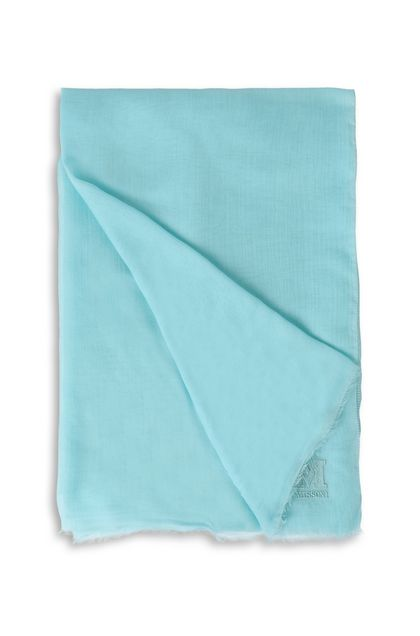 M MISSONI Stole Sky blue Woman - Front