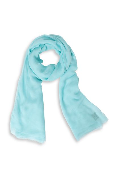 M MISSONI Палантин Небесно-голубой Для Женщин - Обратная сторона