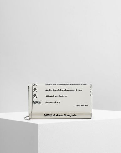MM6 MAISON MARGIELA Logo shoulder bag Wallets Woman f