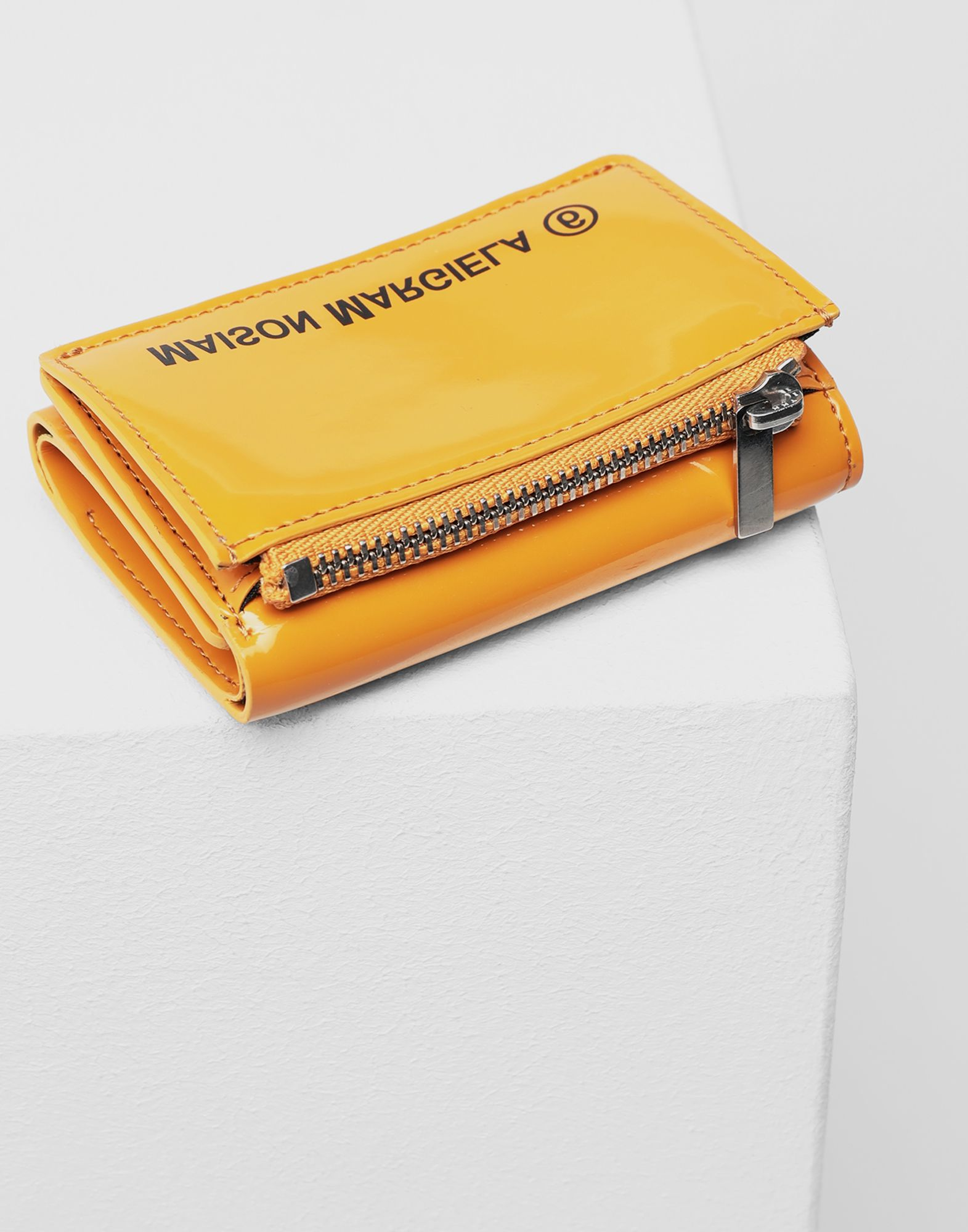 MM6 MAISON MARGIELA Leather logo wallet Wallet Woman d