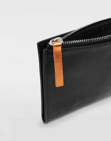 Small Leather Goods  Leather wallet Black