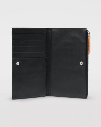 ACCESSORIES Leather wallet Black