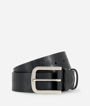 KARL LAGERFELD KARL KAMEO LEATHER BELT