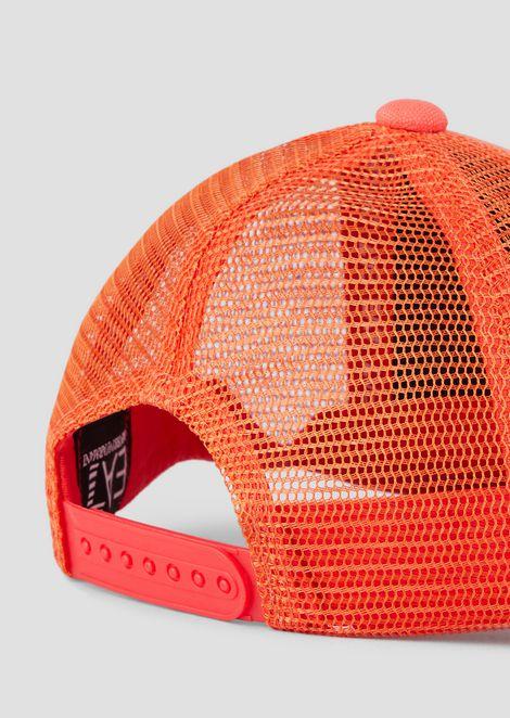Baseball-Cap mit Mesh und Logo